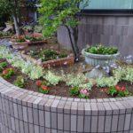 花壇植え替え